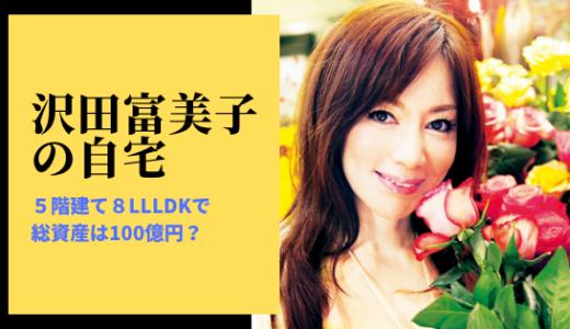 沢田富美子の自宅が豪邸すぎ!5階建て8LLLDKで総資産は100億円?