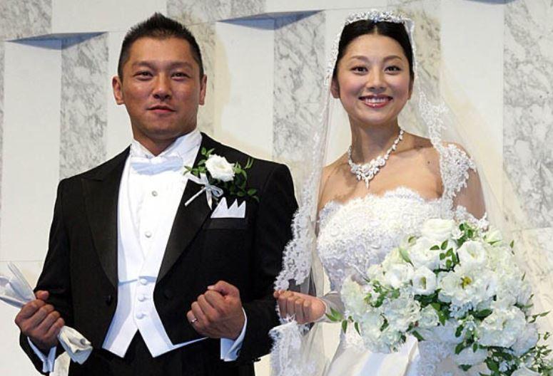 小池栄子と坂田亘の結婚式