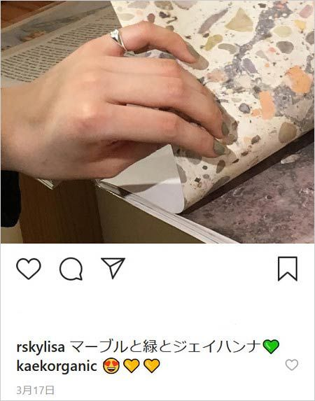 貴田理紗インスタグラム