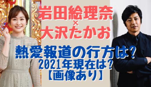 岩田絵里奈と大沢たかおが破局した?2021年現在の二人の関係は?