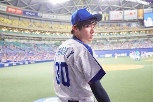 山田裕貴始球式