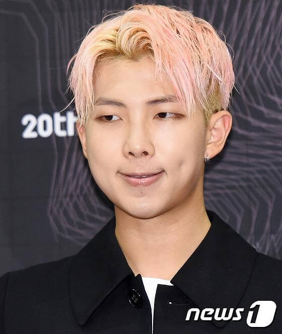 BTSのRMの画像 BTSのラップモンスターの画像