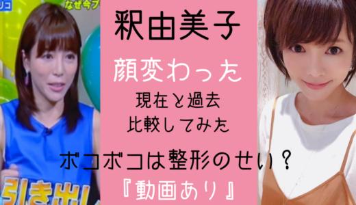 釈由美子の現在「顔変わった」顔面崩壊と言われる理由「画像あり」