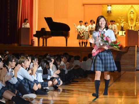 池江璃花子の高校時代 淑徳巣鴨高校