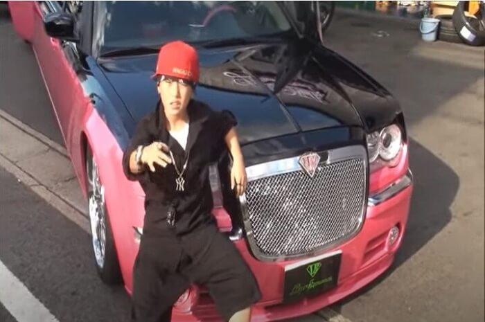 RICKYの曲「晴天」のミュージックビデオ