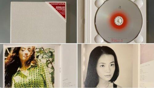 華原朋美の初ベストアルバムの写真画像