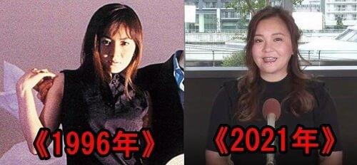 華原朋美全盛期と現在の顔の比較画像