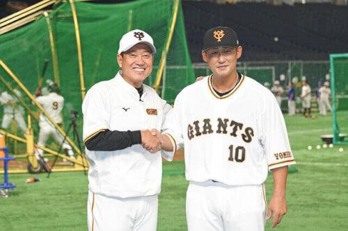 中田翔と原辰徳