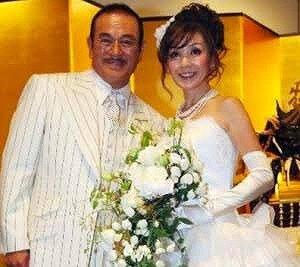 千葉真一さんとタマミ・チバさんの披露宴画像