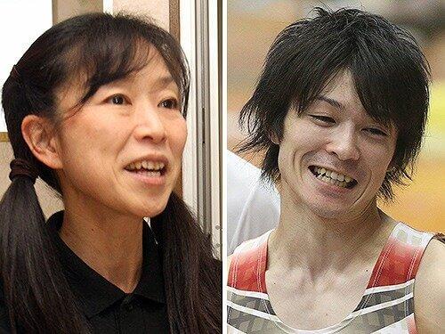 内村航平と母親・周子さんのツイート写真
