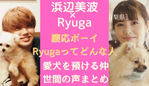 浜辺美波の彼氏はRyuga(りゅうが)慶応卒のインテリイケメン!プロフまとめ