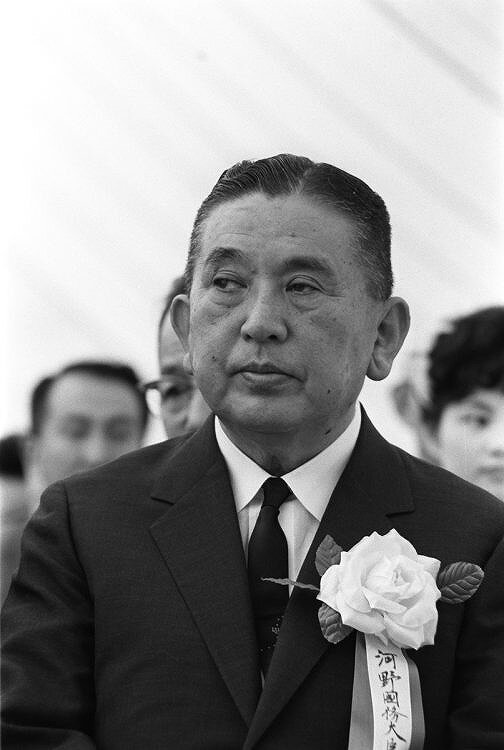 河野一郎さんがイベントに出席している画像