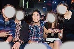 小室圭さんがの飲み会に参加している画像