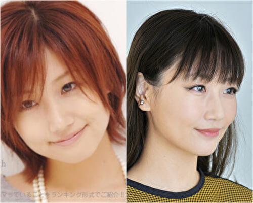 大塚愛の顔の変化