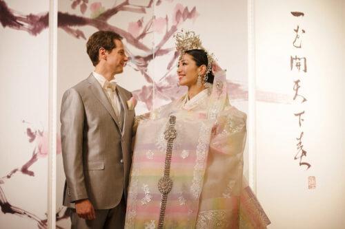 アンミカとセオドール・ミラーの結婚式