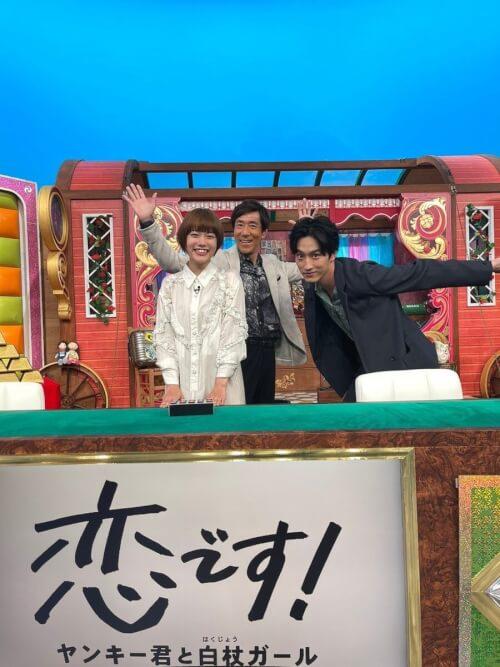 杉咲花さんと杉野遥亮さんがニノさんSPに出演した時の画像